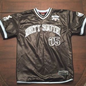 FUBU Athletics 1992 Dirty South Jersey Sz L